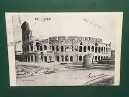Cartolina Colosseo - Saluti Da Roma - 1902 - Roma