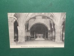 Cartolina Montefiascone - Interno Del Tempio S. Flaviano - Monumento - 1917 - Roma