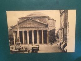 Cartolina Roma - Il Phanteon D'Agrippa - 1922 - Roma