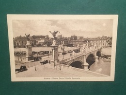 Cartolina Roma - Nuovo Ponte Vittorio Emanuele - 1920 Ca. - Roma