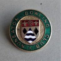 - Broche émaillée - Nuneaton Bowling Club - - Bowling