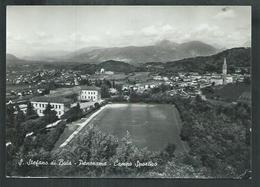 Italie. San Stefano Di Puia; Le Stade De Football. Campo Sportivo - Italie