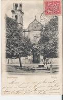MEXIQUE - HUAUCHINANGO. CPA Voyagée En 1906 Iglesia - L'Eglise - México