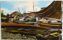 """C. P. A. Couleur : Guyane : CAYENNE : Le Canal Laussat, Port De Pêche, """"Abattoir Municipal"""", En 1966 - Cayenne"""