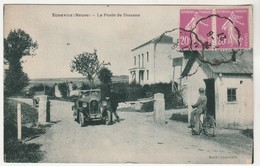 Cpa 55 Ecouviez Le Poste De Douane  ( Automobile ) - France