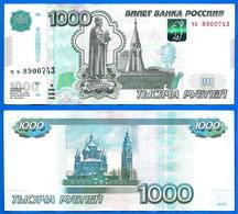 Russie 1000 Roubles 1997 Modifie 2010 Rubles Ruble Russia Eglise Church Paypal Bitcoin OK - Russia