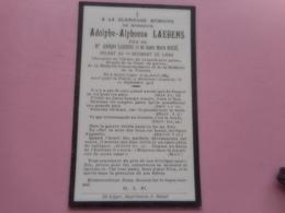 D.P.-MORT POUR LA PATRIE A.A.LAEBENS SOLDAT AU 5eREGIMENTDE LIGNE°SAINT LEGER 22-4-1889+ROTSELAAR 12-9-1914 - Religion & Esotérisme