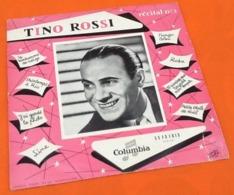 Vinyle 33 Tours (25cm) Tino Rossi  N°2 (1954) Columbia 33 FS 1013 - Formats Spéciaux
