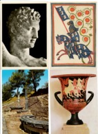 AK Griechenland  (Gesamtkonvulut ) Sammlung  506 Stück Mit Sonderbriefmarken Zum Lesen - Deutschland