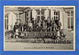 77 SEINE ET MARNE - ECHABOULAINS Tableau De Chasse Au Château De Boulains - Otros Municipios