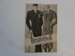 VIEUX PAPIERS - PUBLICITE : Le Vêtement BRUMMELL - Publicités
