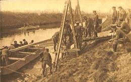 CPA - Belgique - Militaria - Armée Belge - Pontage - B4 - Pontage Avec Chevalet Belge - Guerra 1914-18