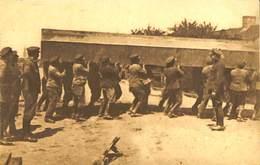 CPA - Belgique - Militaria - Armée Belge - Pontage - B5 - Transport D'un Bateau à Bras D'hommes - Guerra 1914-18