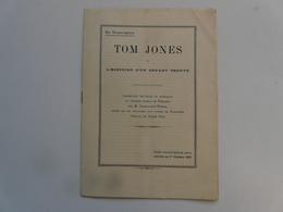 NOTICE - EN SOUSCRIPTION : TOM JONES - Autres