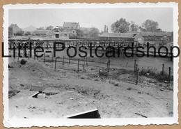 Foto Beeringen Stellungen Am Albertkanal Ca. 1941 Beringen Albertkanaal Pont Brug Sur Le Canal Canaal 2.WK Pi. Btl. 50 - Guerra 1939-45