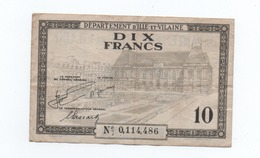 10 FRANCS  D'ILLE ET VILAINE 1940 - 1871-1952 Anciens Francs Circulés Au XXème