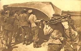 CPA - Belgique - Militaria - Armée Belge - Pontage - B6 - Déchargement Du Haquet - Guerra 1914-18