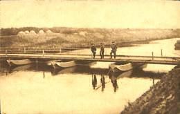CPA - Belgique - Militaria - Armée Belge - Pontage - B8 - Pont Terminé - Guerra 1914-18