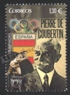 Spain - Espagne 2016 Yvert 4781, America UPAEP. Olympic Games, Pierre De Coubertin - MNH - 1931-Hoy: 2ª República - ... Juan Carlos I