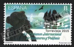 Spain - Espagne 2015 Yvert 4696, 61th International Habaneras And Polyphony Contest - MNH - 1931-Hoy: 2ª República - ... Juan Carlos I