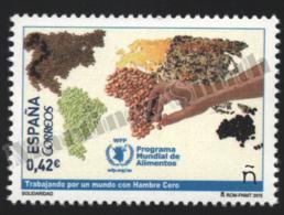 Spain - Espagne 2015 Yvert 4689, Solidarity. World Food Program - MNH - 1931-Hoy: 2ª República - ... Juan Carlos I