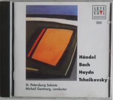 Handel Bach Haydn Tchaikovsky Un Cd - Musicals