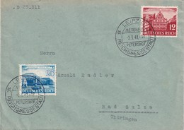 ALLEMAGNE 1941 LETTRE DE LEIPZIG - Duitsland