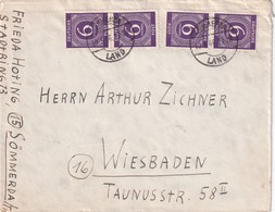 ALLEMAGNE 1946 LETTRE DE SÖMMERDA - Zone AAS