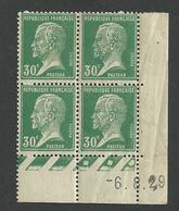 Coin Daté Pasteur N° 174 Du 6 8 1929** - ....-1929
