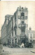 N°4264 T -cpa Angers -grand Hôtel Continental- - Hotels & Gaststätten