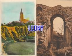 2 CPSM 9X14 De  SAINTES  (17) - Les ARENES Et SAINT EUTROPE N° 156 - ARENES GALLO ROMAINES, DETAIL N° 510 - Saintes