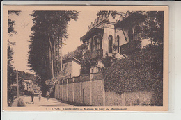 """76  - YPORT  -  Maison De """"Guy De Maupassant """" - Yport"""