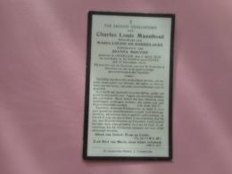 D.P.-MAN VAN M.L.DE DOBBELAERE -C.L.MAENHOUT °OEDELEM 6-4-1839+ST.JORIS-TEN-DISTEL 17-11-1925 - Religion & Esotericism