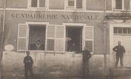 DOMPAIRE. Gendarmerie Nationale - CARTE PHOTO (13 X 8) - Dompaire