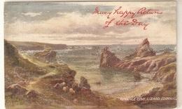 """G.H.Jenkins. Picturesue Cornwall. Kynance Cpve,Lizard"" Tuck Oilette PC # 7176 - Tuck, Raphael"