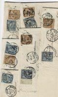 Lot8-6 Lettres Lille Nord Perforés Verley Decroix - Perfins