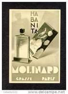 Carte De Parfum HABANITA (Molinard) (Ref.87880) - Parfumkaarten