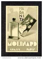 Carte De Parfum HABANITA (Molinard) (Ref.87880) - Oud (tot 1960)