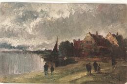 """Prof. Van Hier. Oil Sketches"" Tuck Oiette Postcard # 7153 - Tuck, Raphael"