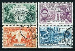 Madagascar (Francesa) Nº 179/82 Usado - Madagascar (1889-1960)
