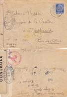 LETTRE. REICH. 7 10 43. WIEN POUR LA FRANCE. BANDE CENSURE ALLEMANDE - Duitsland