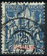 Gabón Francés Nº 23 Usado. Cat.8€ - Gabon (1886-1936)