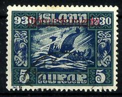 Islandia Servicio Nº 45 Usado. Cat.25€ - Oficiales