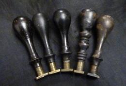 5 Cachets Anciens Du XIXe Et XXe Siècle - Cachets
