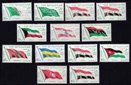 E167 – EGYPTE – EGYPT – 1964 – ARAB COUNTRIES FLAGS FULL SET – Y&T # 611/23 MNH - Nuevos