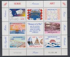 2000-MONACO.N°2240/2247** MONACO ET LA MER.EN FEUILLET - Unused Stamps