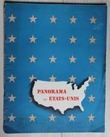 Belle Revue Panorama Des Etats Unis Publié Par L'Office D'information De Guerre Des Etats Unis WW2 - 1939-45