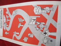 Prospectus Publicitaire MICHELIN/Evitez Les Routes Encombrées/Signaux Michelin//vers 1940-1945    VPN307 - Mapas
