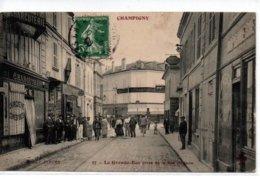 Champigny-La Grande-Rue Prise De La Rue Mignon - Champigny Sur Marne