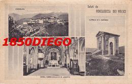 ROCCASECCA DEI VOLSCI - MULTIVEDUTE F/PICCOLO VIAGGIATA  ANIMATA - Latina